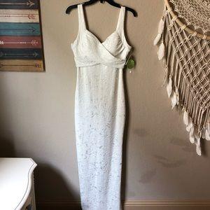 "White ""Wedding Dress"". Brand new."